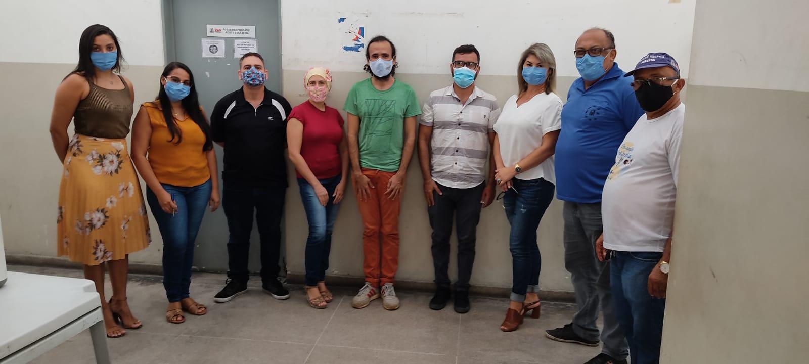 Reunião realizada no CCZ de João Pessoa